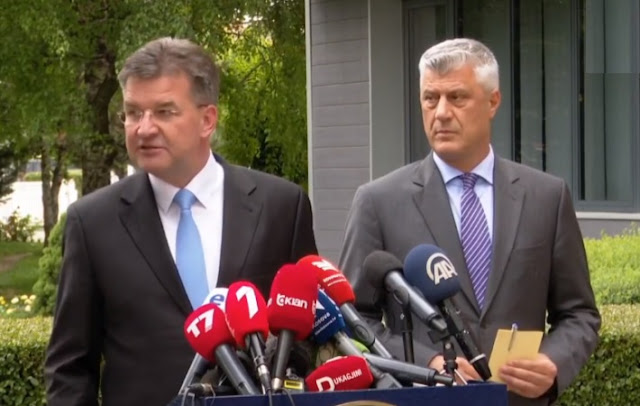 Miroslav Lajcak admits that the result of the Kosovo-Serbia dialogue has been achieved thanks to the United States