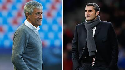 Barcelona Sack Valverde, Name New Coach