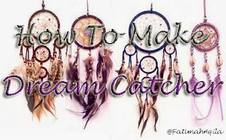 Cara Membuat Dream Catcher