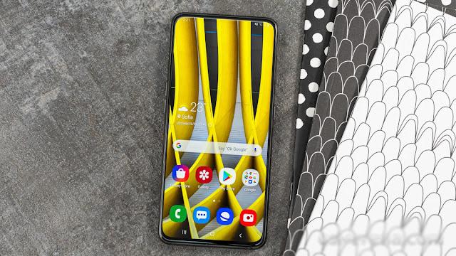يتم تحديث هاتف سامسونج  Galaxy A80 مع تصحيح أمان أندرويد لشهر أوت 2021