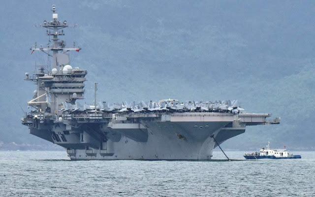 Καραντίνα εν πλω για 5.000 ναύτες στο αεροπλανοφόρο Ρούζβελτ