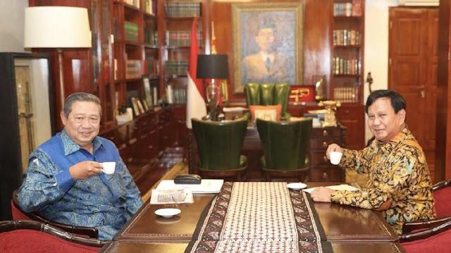 SBY Mulai Rasakan Aura Kemenangan pada Prabowo-Sandi
