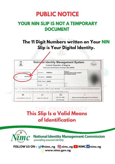 NIN Enrolment Guidelines & Requirements for UTME Registration | FREE