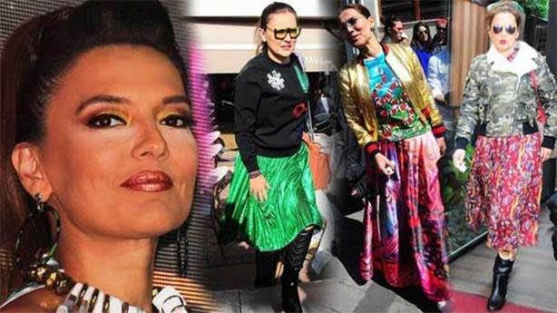 مغنية تركية تسخر من إطلالة توبا بويوكستون فى حفل الإيمي العالمى