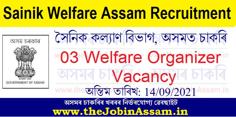 Sainik Welfare Assam Recruitment 2021: Apply for 03 Welfare Organizer Vacancy