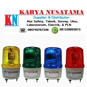Jual Lampu Proyek Lampu Rotary 4inch Merah Kuning Hijau biru Buzzer di Sumatera