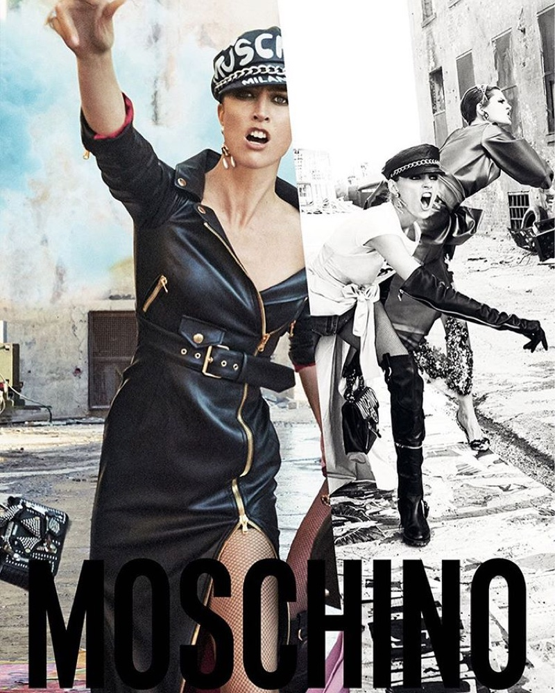 Moschino gets rebellious for Fall/Winter 2016 Campaign