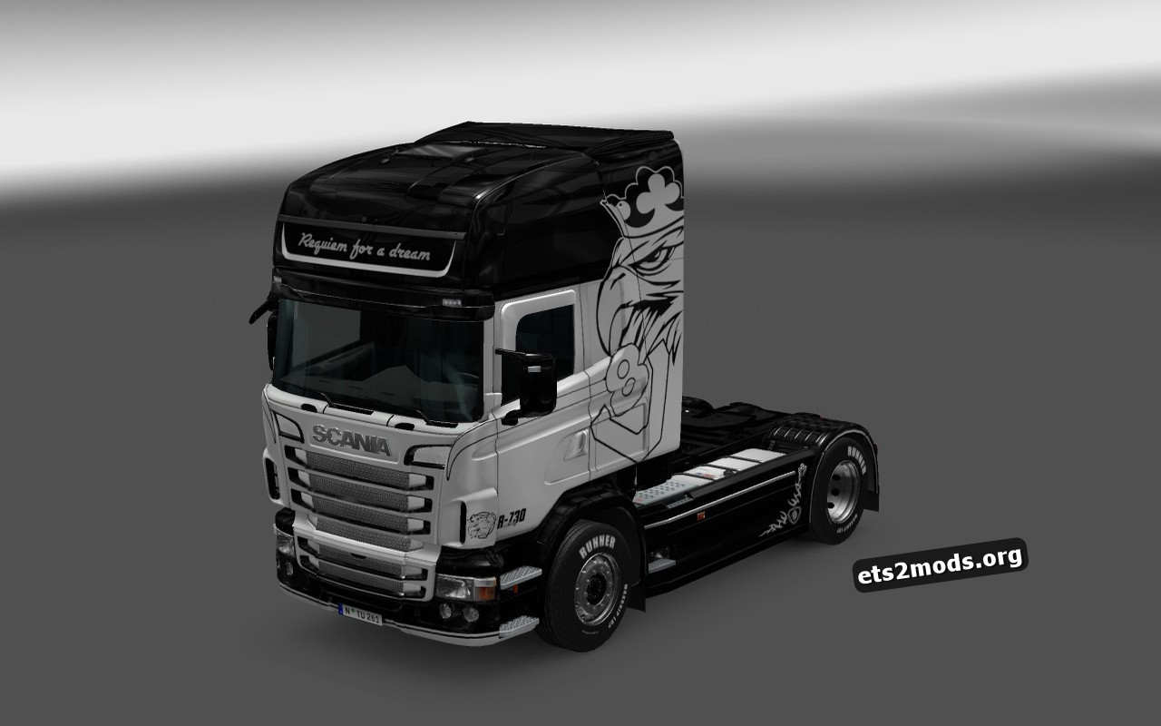 Scania RJL Skin Requiem For A Dream