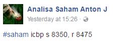 FB Page SAHAM