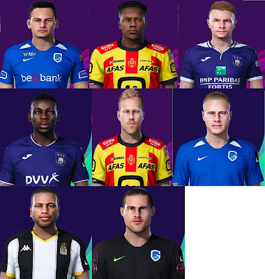 PES 2021 Facepack #2 by Spursfan07