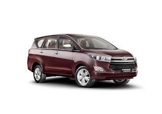 Toyota innova crysta booking start