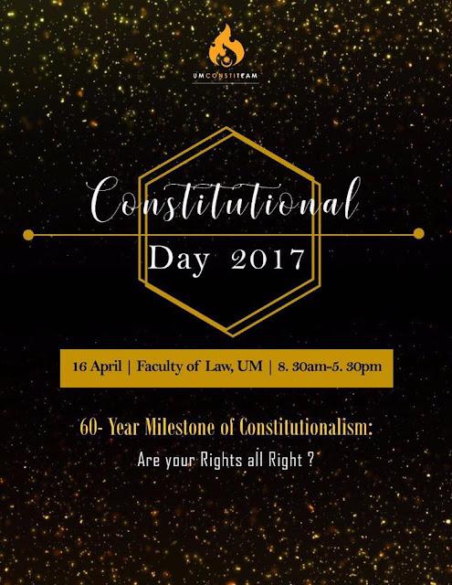 Universiti Malaya UM Constitutional Day 2017