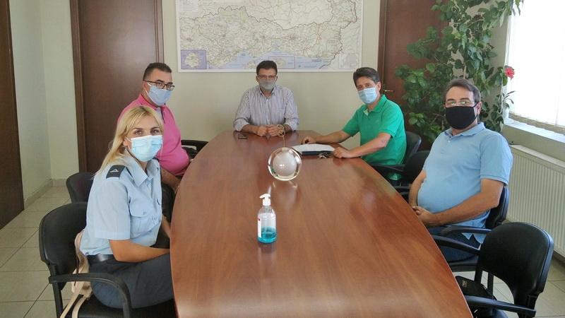 Ζητήματα που τους απασχολούν έθεσαν στον Δημήτρη Πέτροβιτς αστυνομικοί της Αλεξανδρούπολης