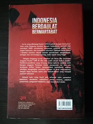 Sinopsis Buku Indonesia Berdaulat Bermartabat