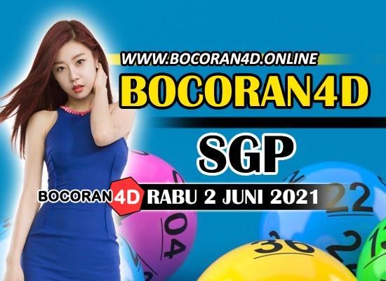 Bocoran Togel 4D SGP 2 Mei 2021