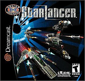 Starlancer Dreamcast cover art