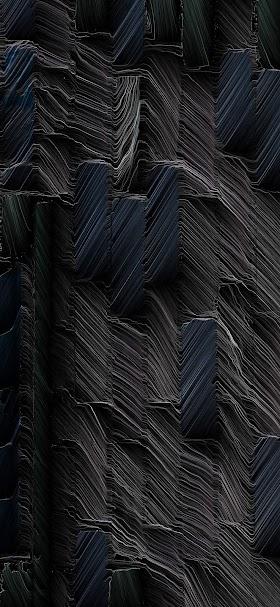 خلفية طبقات صخرية رقيقة سوداء متراكمة