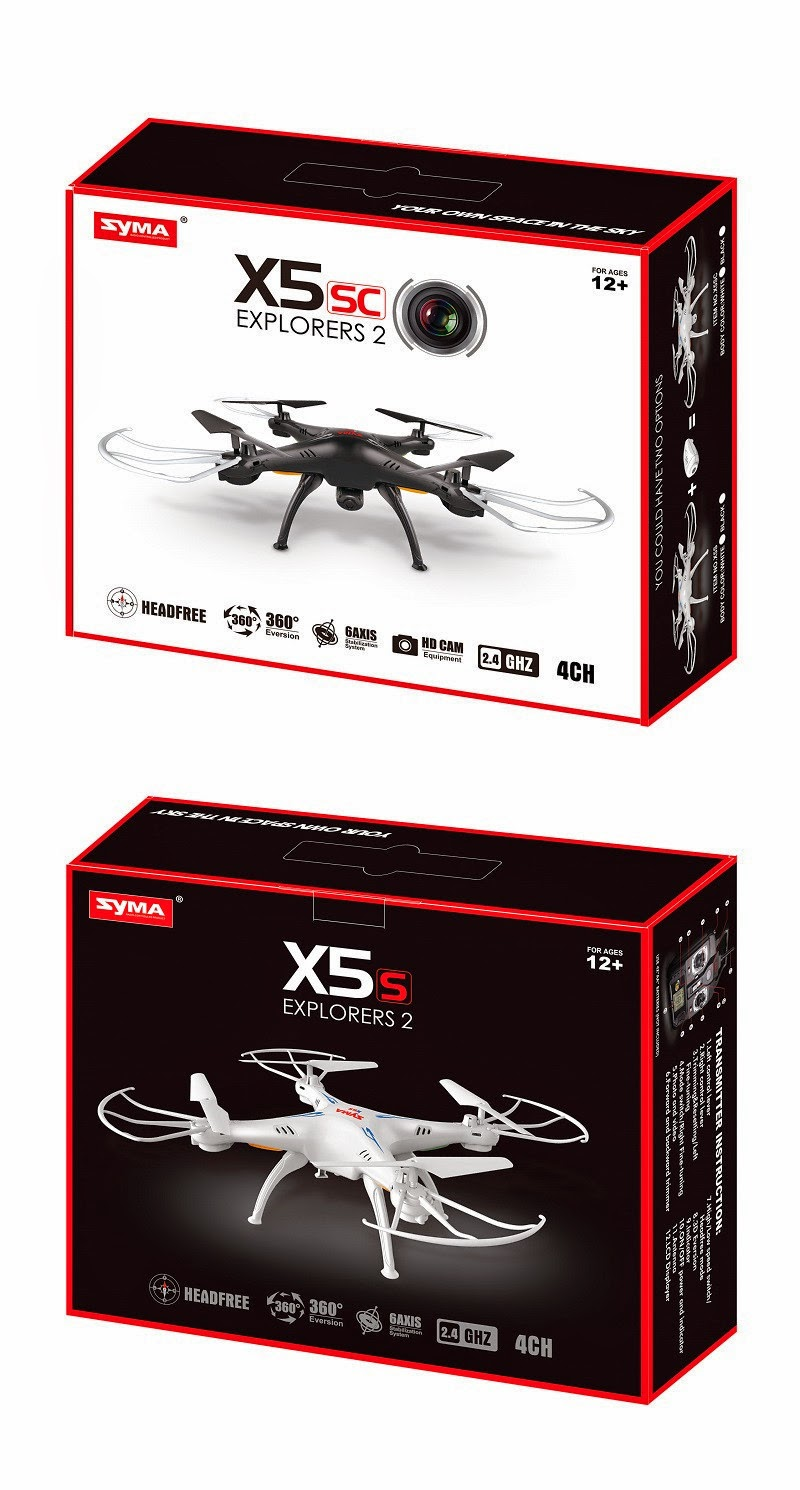 Syma X5Sc Explorers2 Quadcopter unboxing