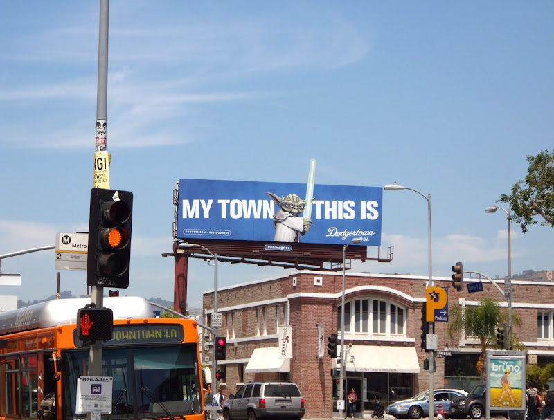 Yoda My Town This Is billboard