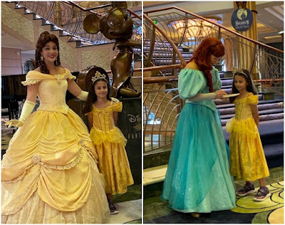 Meeting Princesses on a Disney cruise