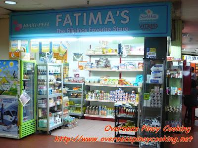 Kota Raya Shopping Complex - Filipino Shop