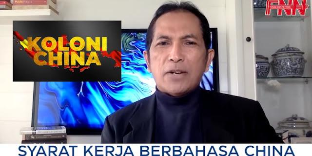 Cermati Tanda-tanda di Daerah, Hersubeno Arief Khawatir Indonesia jadi Koloni China
