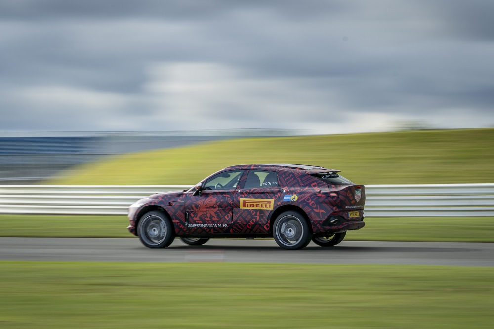 Aston Martin DBX powers into final stages of development