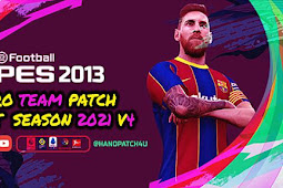 Pro Team Patch V4 Season 2021 AIO - PES 2013