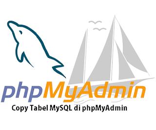 Cara Copy Tabel MySQL Di phpMyAdmin  aSaL uSiL
