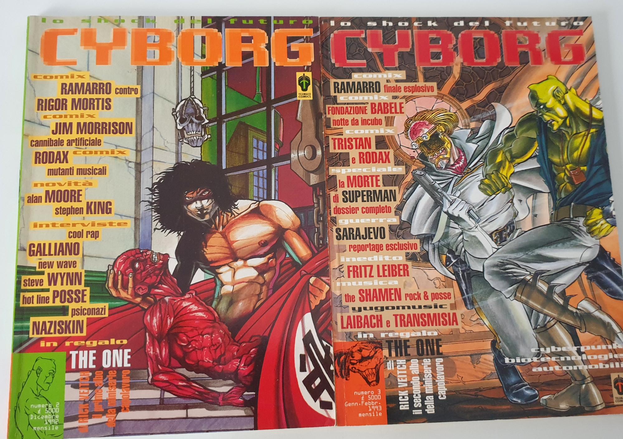 Cyborg rivista cyberpunk anni 90