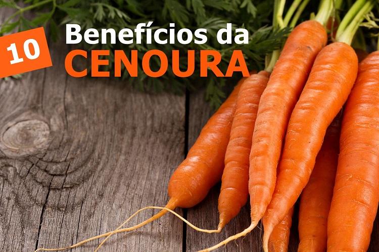 10 Benefícios Impressionantes da Cenoura