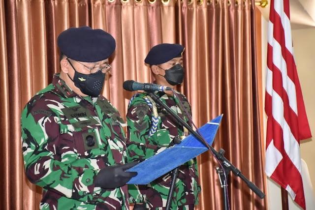 Kolonel Laut (P) Bayu Alisyahbana, S.M., CHRMP., Jabat Wadan Puspenerbal