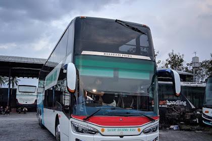 Bus Double Decker dari Karoseri Morodadi Prima