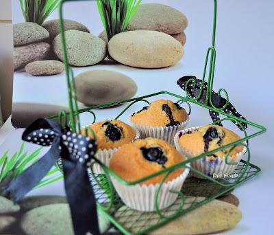 Blaubeermuffins Blaubeer-Muffins