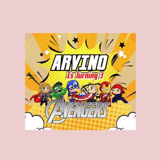 Kumpulan Contoh Desain Banner Avenger
