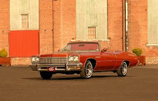 1975 Buick LeSabre Convertible Front Left