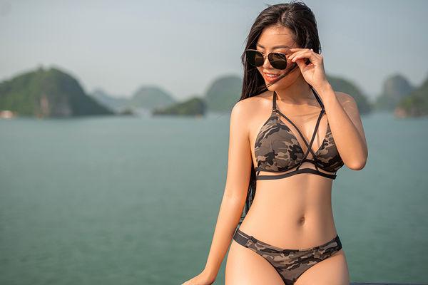 Lan cave - Thanh Hương khoe body đẹp khó tin dù đã là gái 2 con