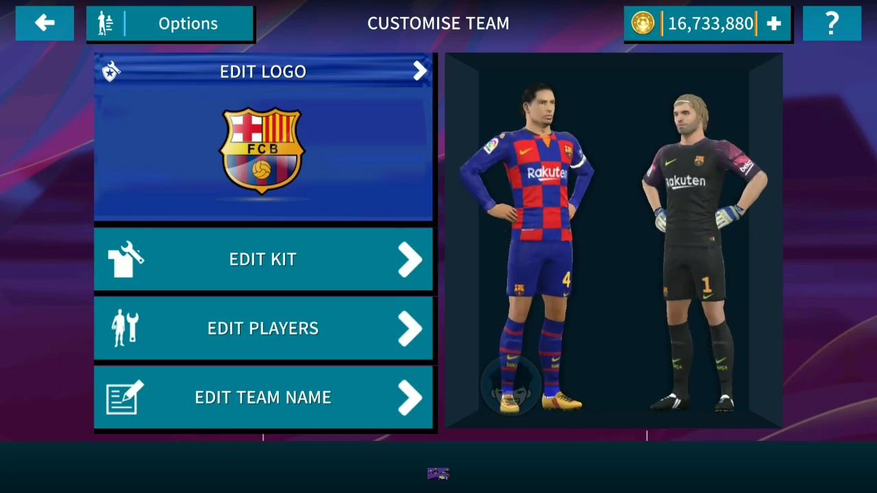 Dream League Soccer 2019 Mod eFootball PES 2020