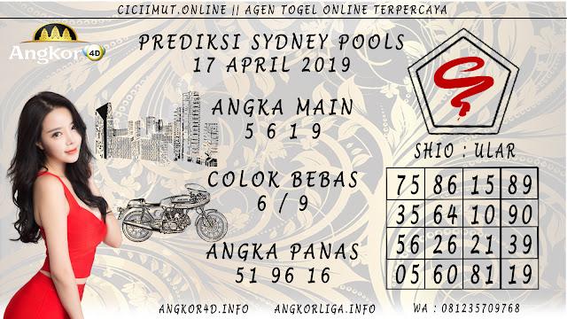 Prediksi Angka Jitu SYDNEY POOLS 17 APRIL 2019