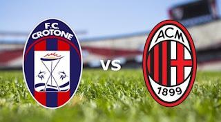 Crotone vs Milan Live stream Soccer Italian Serie A today 20-8-2017