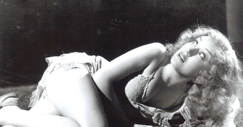"25 Beautiful Portrait Photos of Fay Wray in the Film ""King Kong"" in 1933"