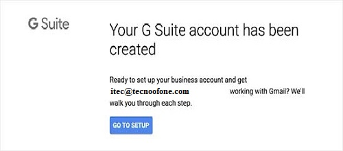 G suite-Business gmail account created-manage gmail business account