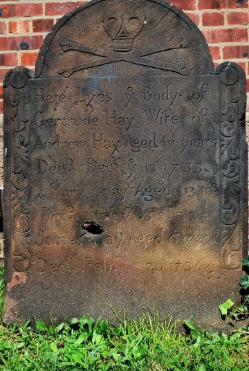 Gravestones Of Colonial New England The Substance Of The