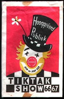 Jaren 60 - Tiktak show