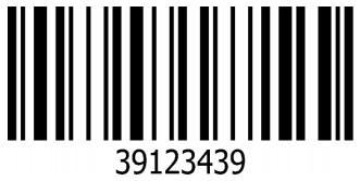 Barcode jenis Code 128