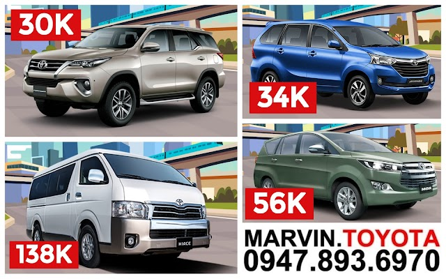 Toyota Batangas 2018 Early Christmas Low Down Payment Promos!