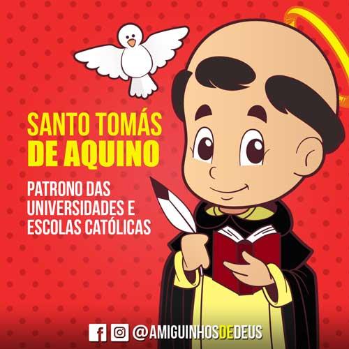 Santo Tomás de Aquino desenho