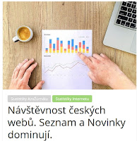 Návštěvnost českých webů. Seznam a Novinky dominují. - AzaŽurnál