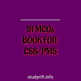 International Relations Mcqs book for CSS/PMS
