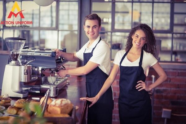 Đồng phục tiệm cà phê